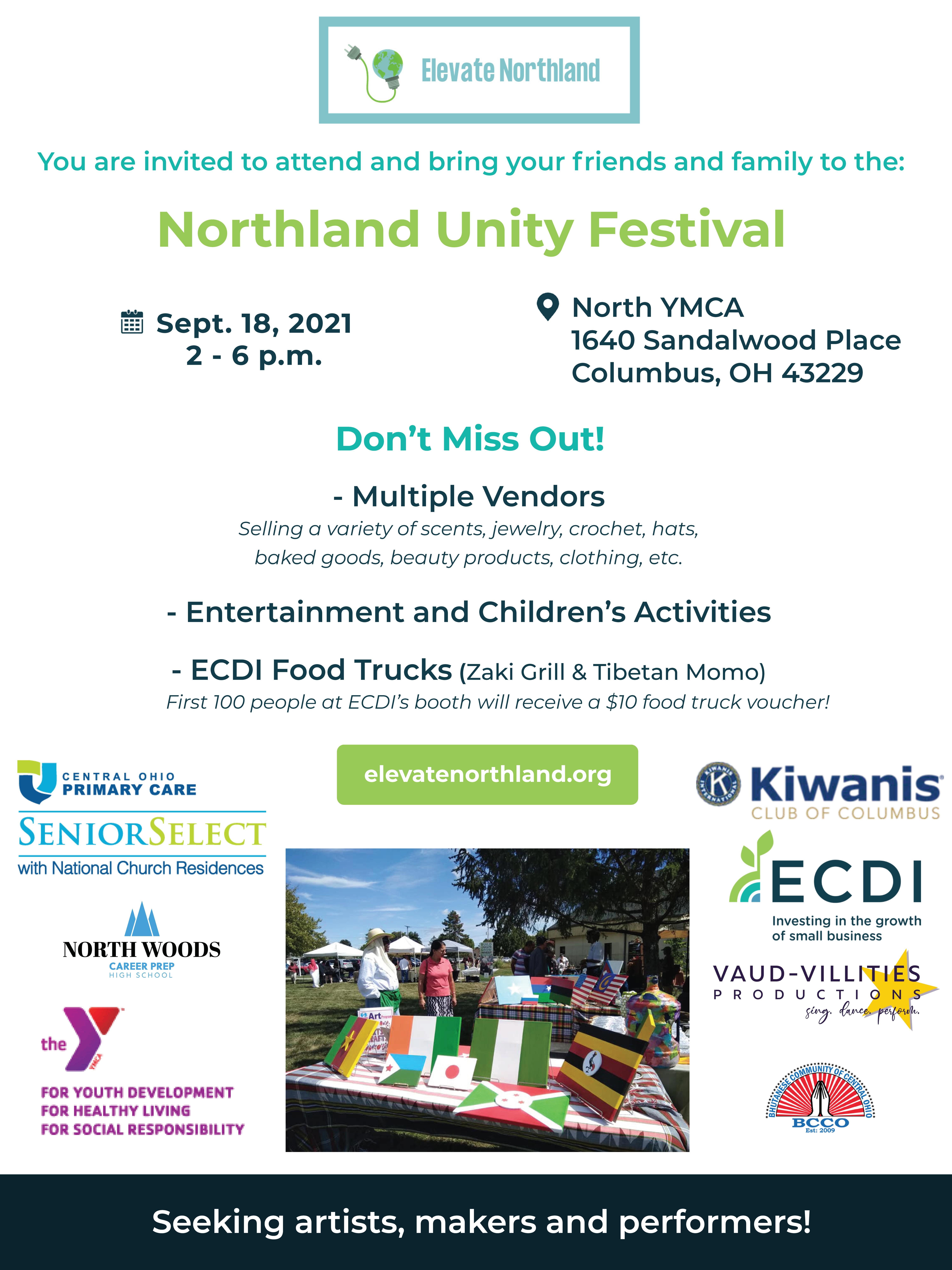 Northland Unity Festival flyer